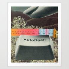 autospell Art Print