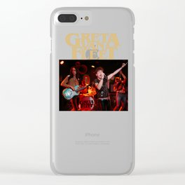 GRETA VAN FLEET 01 Clear iPhone Case