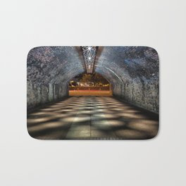 Tunnel of lights Bath Mat