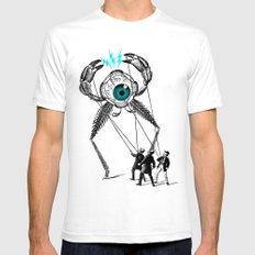The Taming  X-LARGE White Mens Fitted Tee