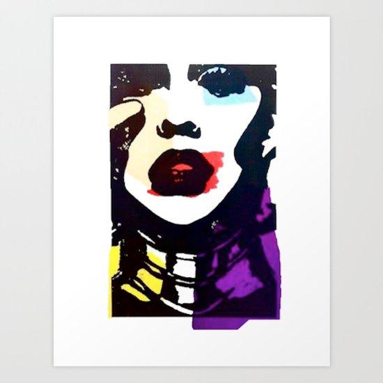 Aguilera 1.0 Art Print