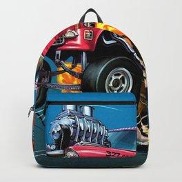 Hot Wheels Candy Striper 55 Gasser Poster Backpack