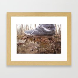 Walk This Earth Framed Art Print