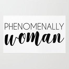 Phenomenally Woman Rug