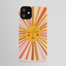 Sunshine – Retro Ochre Palette iPhone Case