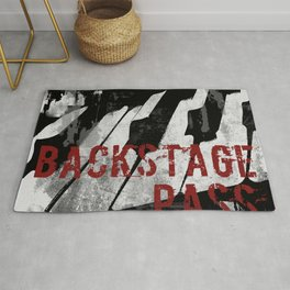 Rock n' Roll Piano Rug