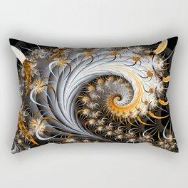 Fractal Spiral Rectangular Pillow