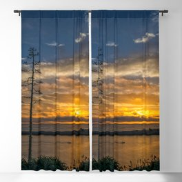 Perfect SoCal Sunset Blackout Curtain