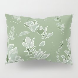 Succulent Sunshine- Beauty Flourishes in the Sun Pillow Sham