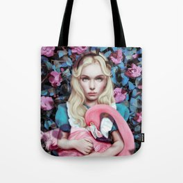 """Alice in Wonderland"" by Giulio Rossi Tote Bag"