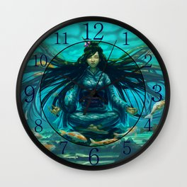 Deep Meditation Wall Clock