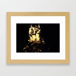 Abstract Eiffel Tower Framed Art Print