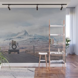 NEVER STOP EXPLORING ICELAND Wall Mural