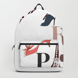 Paris city light Backpack