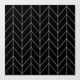 ZIG ZAG HERRINGBONE Canvas Print
