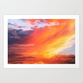 Alternate Sunset Dimensions Art Print