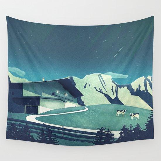 Alpine Hut by mina_burtonesque