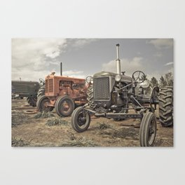 Tractor Show Canvas Print