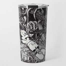 Alien Abduction - The Mouse Travel Mug