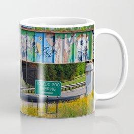 Zoo Mural Coffee Mug