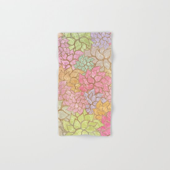 Summer Pattern #4 Hand & Bath Towel