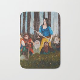 Snow-White and the Seven Dwarves Bath Mat
