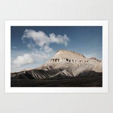 The Last of the Rockies Art Print
