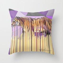 Tiger Disambiguation Throw Pillow