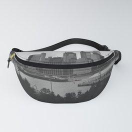 Black and White Manhattan Views Fanny Pack