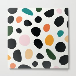 minimal pattern | elliott bryan | Metal Print