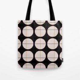circle - grid Tote Bag