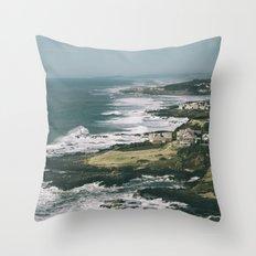 Yachats Throw Pillow