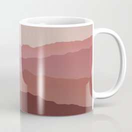 Misty Mountain Pink Coffee Mug