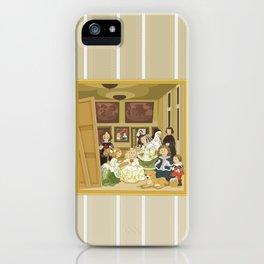 The Maids of Honour by Velázquez (Las Meninas)  iPhone Case