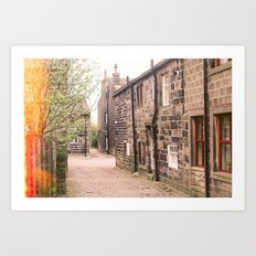 Home is where your heart is. Art Print