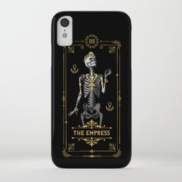 The Empress III Tarot Card iPhone Case