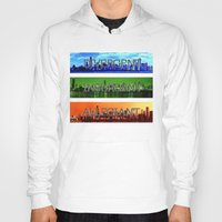 divergent Hoodies featuring Divergent by All Things M