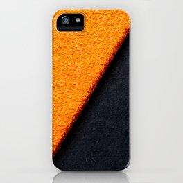 Orange Carpet iPhone Case