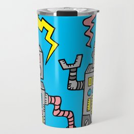Robot Talk Travel Mug
