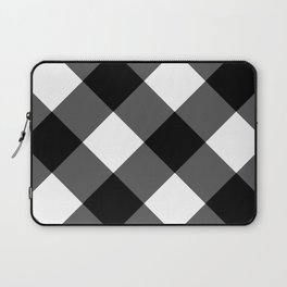 black and white 3 Laptop Sleeve