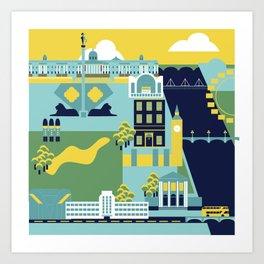 Charing Cross to Pimlico Art Print
