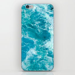 Sea Me Waving iPhone Skin