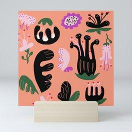 childish floral Mini Art Print