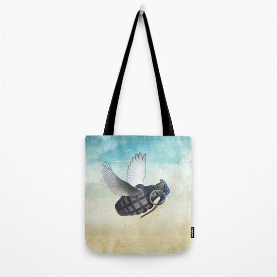 war and peace Tote Bag