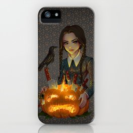 Wednesday Addams - Homicide iPhone Case