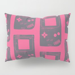 Game Boy on pink Pillow Sham