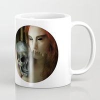 madonna Mugs featuring Lamenting Madonna by Richard George Davis