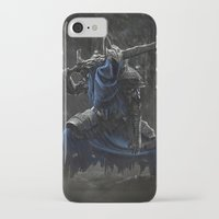 dark souls iPhone & iPod Cases featuring Artorias (Dark Souls fanart) by Artur Jag