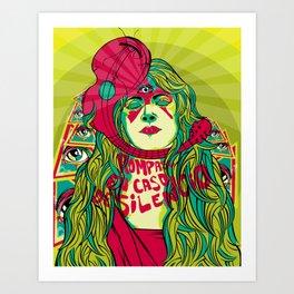Rompase en caso de silencio (break in case of silence) Art Print