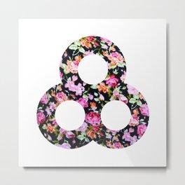 A pretty floral Bonnaroo Metal Print